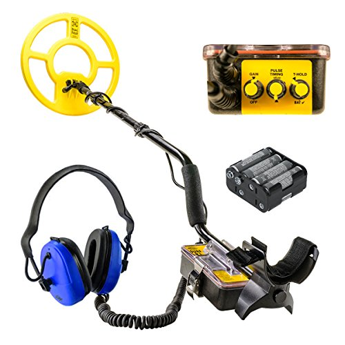 White's Surf PI Dual Field Pulse Induction Metal Detector w/12' Search Coil...