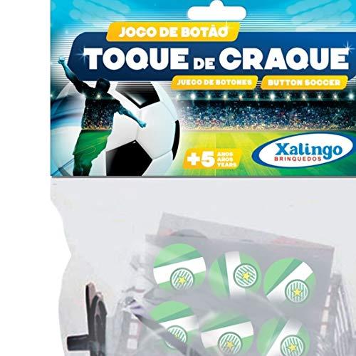 Conjunto Infantil de Futebol de Botão Verde/Branco 07310 - Xalingo