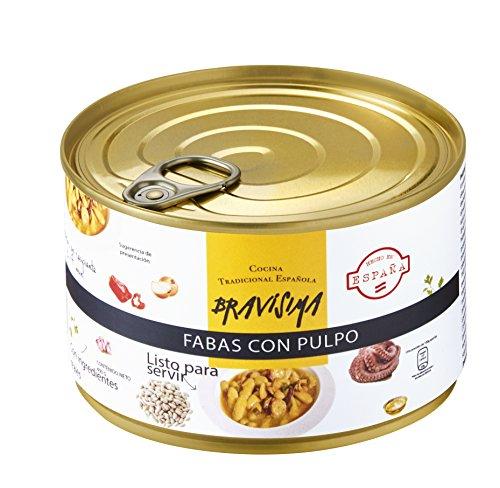 Bravisima Gourmet Fabas con Pulpo