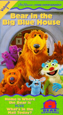 Bear in the Big Blue House, Vol. 1 - Home Is Where the Bear Is / What's in the Mail Today [VHS]