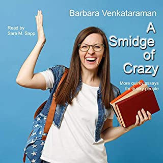 A Smidge of Crazy audiobook cover art