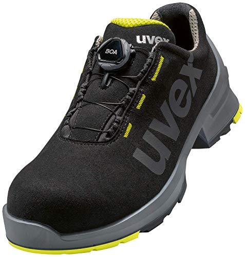 Uvex 1 Arbeitsschuhe - Sicherheitsschuhe S2 SRC ESD - Lime/Schwarz, Größe:42