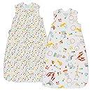 Grobag Pack de 2 Sacos para dormir bebé 1.0/2.5 tog , Multicolor,Grobag Pack de 2 Sacos para dormir bebé 1.0/2.5 tog , Multicolor, 4,8 de un máximo de 5 ...