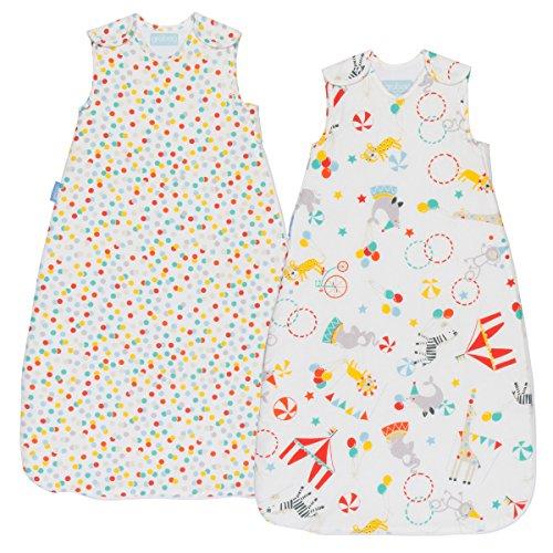 Grobag Pack de 2 Sacos para dormir bebé 2.5 tog