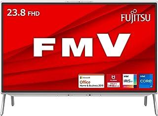 【公式】 富士通 デスクトップパソコン FMV ESPRIMO (MS Office 2019/Win 10/23.8型/Core i7/16GB/SSD 256GB + HDD 2TB/DVD) FHシリーズ AZ_WF1F1_Z674