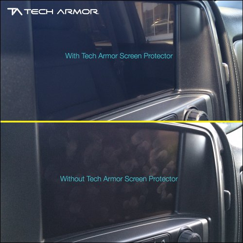 R RUIYA HD Clear Tempered Glass Screen Guard Shield Scratch-Resistant Ultra HD Extreme Clarity 8-Inch 2018 Chevrolet Traverse MyLink Display Navigation Screen Protector New