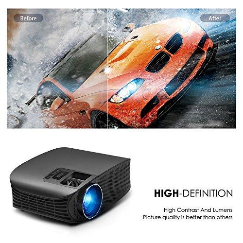 Video Projector, RocketPro Projector 30,000 Hour, 200