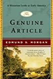 The Genuine Article: A Historian Looks at Early America (English Edition)