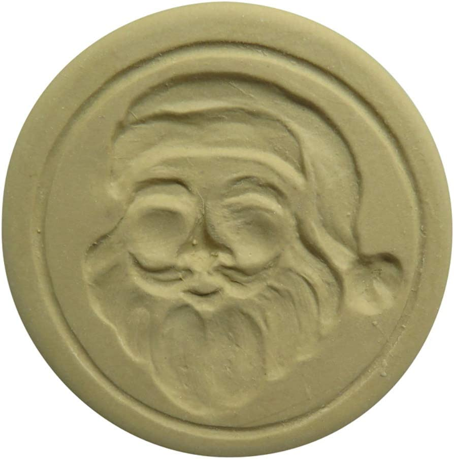 Brown Bag Inexpensive Santa Cookie - Christmas Stamp free Series