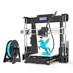 professional Anet A8 3D Printer, DIY FDM 3D Printer Kit, FDM 3D Printer 220 x 220 x 240 mm, DIY Assembly 3D…