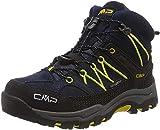 CMP Unisex-Kinder Kids Rigel Mid Shoe Wp Trekking-& Wanderstiefel, Blau (B.Blue-Zafferano 11nd), 35 EU*