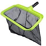 Sepetrel Swimming Pool Leaf Skimmer Net,Reinforced Frame Deep Rake Net