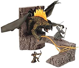 Lord of the Rings Armies of Middle Earth Battle Scenes Bridge at Khazad-dum with Balrog Figure