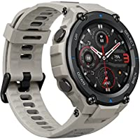 Amazfit T-Rex Pro Men's Military Outdoor Sports Smart Watch with Blood Oxygen, Heart Rate & Sleep Monitor (Grey)