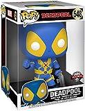Funko Deadpool Super Sized Pop! Vinyl Figure Thumb Up Blue Deadpool 25 cm Marvel...