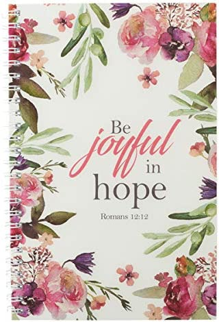 Be Joyful in Hope Wirebound Notebook Romans 12 12 product image