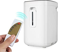 Portable Air Concentrator, Enshey Household 1-6L/min Air Generator Purifier for Home and Travel, Low Noise Air Humidifiers Concentrator Machine 110V, Standard 1B