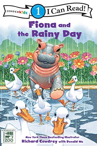 Fiona and the Rainy Day: Level 1 (I Can Read! / A Fiona the Hippo Book)