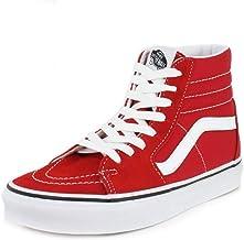 mens red high top vans