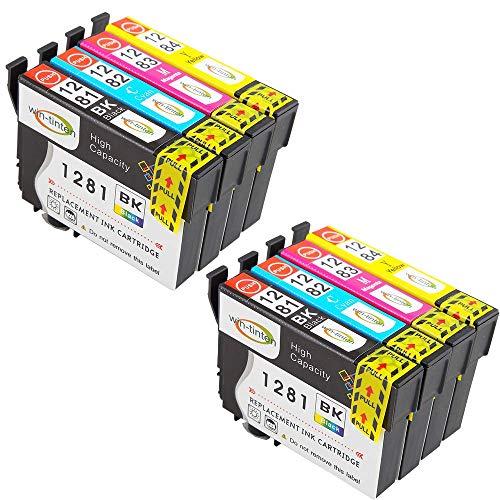 Win-Tinten Cartucce d'inchiostro compatibili T1295(T1291-T1294) per Epson Stylus Office BX305FW BX525WD BX625FWD B42WD BX925FWD BX535WD SX420W SX425W stampante (2 Nero 1 Cyan 1 Magenta 1 Giallo)