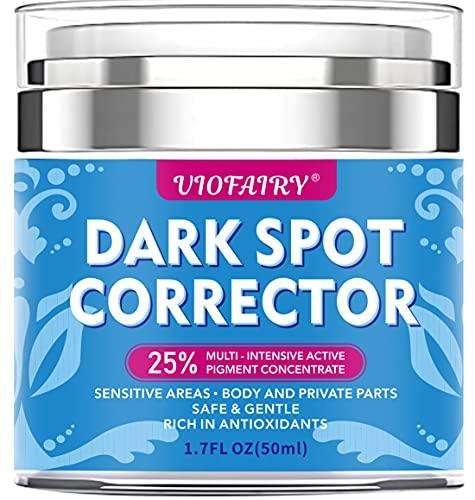 Dark Spot Corrector Remover - Skin Lightening Bleaching Cream - Underarm Cream for Armpit, Elbows, Knees, Neck, Bikini and Private Areas, Dark Spot Cream For body - Instant Result - Even Skin Tone