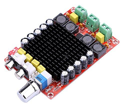 DollaTek TDA7498 2X100W Modulo Amplificatore di Potenza Stereo Digitale a Doppio Canale DC 24V Classe D Scheda Amplificatore Audio