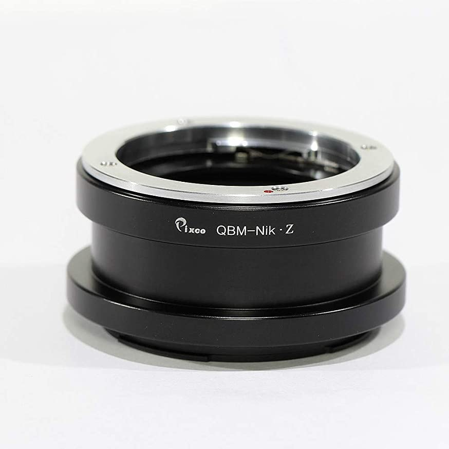 Pixco Lens Mount Adapter Ring for Rollei Lens to Nikon Z Mount Camera Nikon Z6 Nikon Z7 (Rollei-Nikon Z)