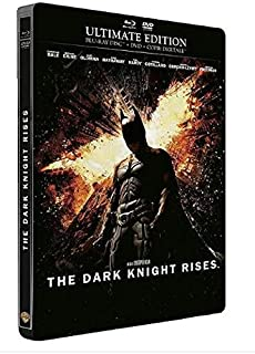 Batman-The Dark Knight Rises [Ultimate Edition boîtier SteelBook-Combo Blu-Ray + DVD + Copie Digitale] (B008J0GDQ8) | Amazon price tracker / tracking, Amazon price history charts, Amazon price watches, Amazon price drop alerts