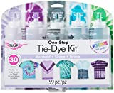 Tulip One-Step Tie-Dye Kit One-Step Tie Kit Fabric Dye, Mermaid