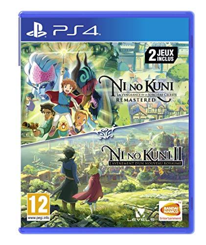 Ni No Kuni I/II Compilation pour PS4 Importación francesa