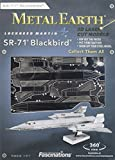 Metal Earth - 5061062 - Maquette 3D - Aviation - Sr-71 Blackbird - 10,1 x 5,2 x 3 cm - 1 pièce