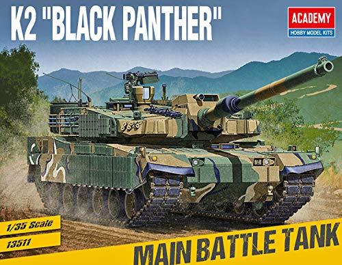 1/35 R.O.K. ARMY K2 BLACK PANTHER #13511 ACADEMY MODEL KITS / ACA13511 1:35 Academy ROK Army K2 'BLACK PANTHER' [MODEL BAUKIT]