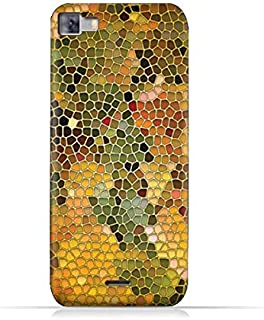 Infinix Zero 3 X552 TPU Silicone Protective Case with Stained Glass Art Design