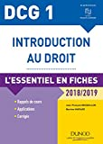 DCG 1 - Introduction au droit - 2018/2019 - L'essentiel en fiches - L'essentiel en fiches (2018-2019)
