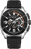 MEGIR Hombres Ejército Relojes Deportivos Cronógrafo Reloj de Cuarzo Hombre Moda Impermeable Luminoso Banda de Silicona Reloj Hombre