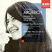 Live from the Concertgebouw, 1978 & 1992 - Mozart: Piano Concerto No. 25, K. 503 / Beethoven: Piano Concerto No. 1, Op. 15 by Mozart (2001-11-21)