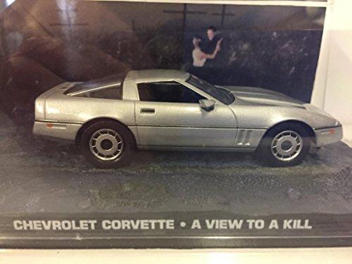 007 James Bond Car Collection #37 Chevrolet Corvette (A view to kill)