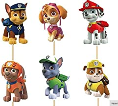 Paw Patrol #2 Assorted Cupcake Picks Set of 12