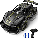 Dodoeleph Metal RC Cars, 10 mph RC Drift Car, 1:24 Diecast Remote Control Car, Electric Sport Racing Hobby Toy Car Model Vehicle for Boys Teens Adults Gift Black