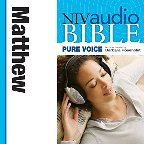 NIV New Testament Audio Bible, Female Voice Only: Matthew cover art