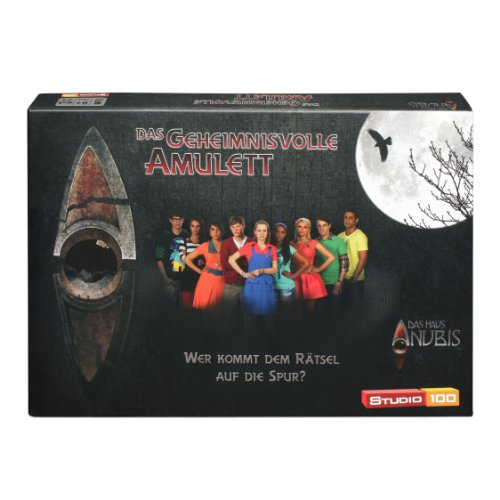 Studio 100 - MEHADE000200 Das Haus Anubis : Brettspiel Das geheimnisvolle Amulett