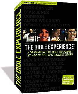 Inspired By . . . The Bible Experience: The Complete Bible, Audio CD: A Dramatic Audio..
