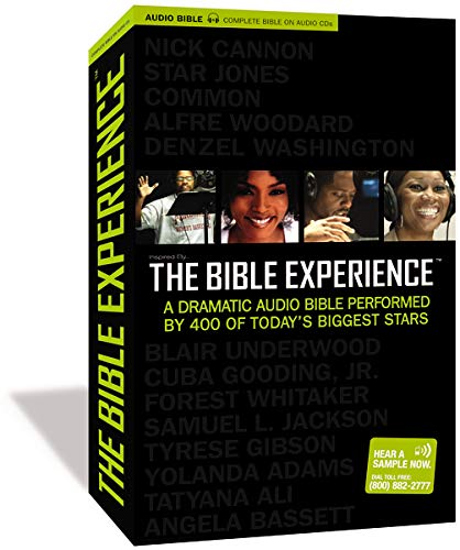 Inspired By . . . The Bible Experience: The Complete Bible, Audio CD: A Dramatic Audio Bible Performed by 400 of Today's Biggest Stars