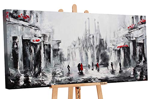 YS-Art | Cuadro Pintado Mano Barcelona |