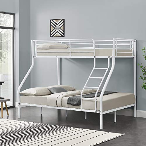 [neu.haus] Metalen stapelbed kinderbed - wit