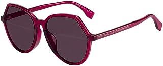 Fendi Violet Dc Ladies Sunglasses FF 0397/F/S 0C9A 59