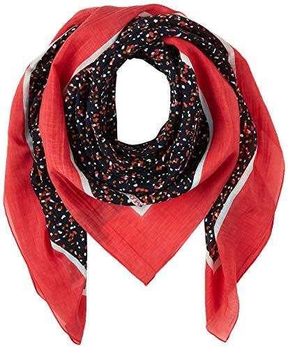 Marc O'Polo Damen 001811702141 Schal, Rot (Multi/ D75), One Size (Herstellergröße: OSO)