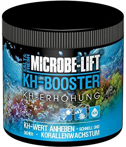 MICROBE-LIFT KH Booster – Karbonathärte KH Erhöhung für Süßwasser und Meerwasser Aquarium mit nützlichen Bakterien, 250 g