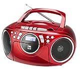 Kassettenradio mit CD • UKW-Radio • Boombox • CD-Player • Stereo Lautsprecher...