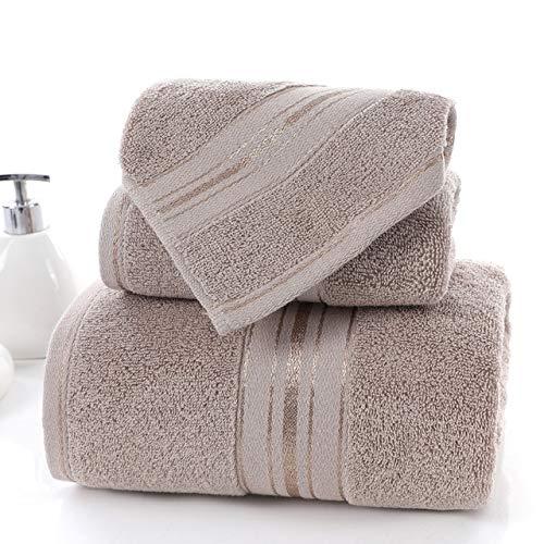 QORI 100% Egipcio Conjunto de Toallas de Toalla de algodón y Toalla de Cara de Toalla de Cara de una selección Individual Toalla de baño Toallas Deportivas Playa Toallas de Playa 35x75cm